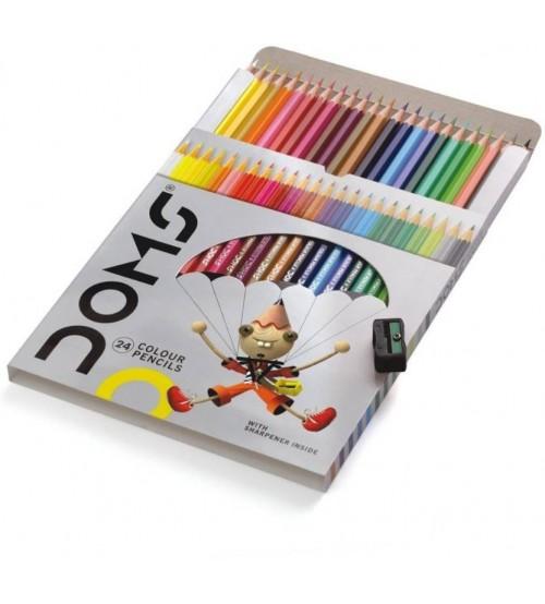 DOMS 24 Colour Pencils Set