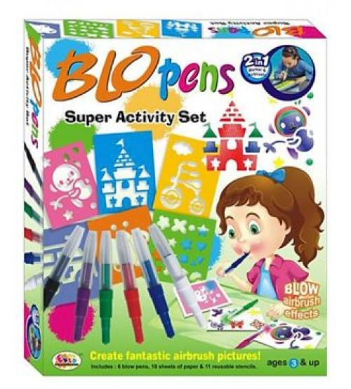 Ekta Blo Pens Super Activity Set