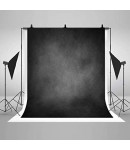 8x12 Feet Background / Backdrop for Photography, TV or Video Production, Reflector, Curtain, Black Color