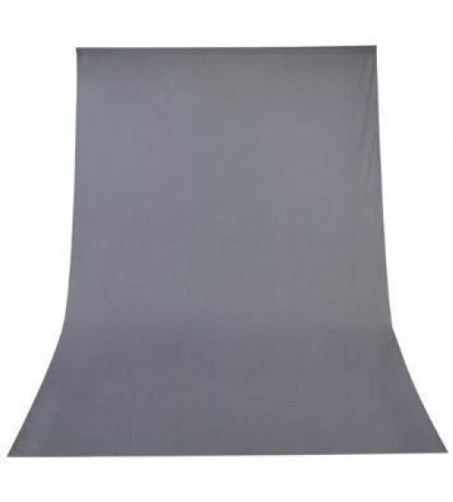 8x12 Feet Background / Backdrop for Photography, TV or Video Production, Reflector, Curtain, Grey Color