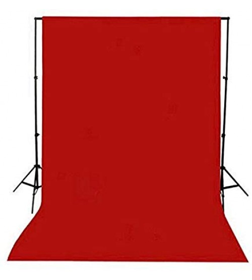 8x12 Feet Background / Backdrop for Photography, TV or Video Production, Reflector, Curtain, Red Color