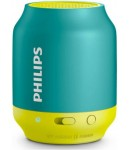 Philips BT50A/00 Portable Bluetooth Speaker, Wireless, Green Yellow
