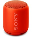Sony SRS-XB10/RC Portable Bluetooth Speaker, Mono Channel, Orange Red