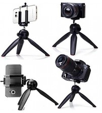 Mini Tripod YT-228 Portable & Foldable Camera & Mobile Stand, High Quality, Easy To Carry, 3-Sec Leg