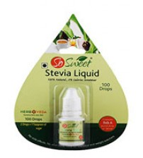 Sugar Free Stevia Liquid Pack, 10-1000 drops, 100% Natural Sweetener, So Sweet