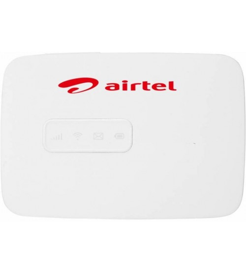 Airtel MW40CJ 4G Unlocked WiFi Hotspot Data Card (Support All 2G/3G/4G Network), White