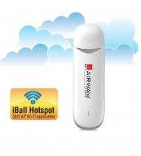 iBall 21.0 MP-58 Airway Data Card, Wi-Fi Ready, White
