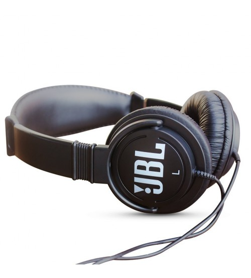 JBL C300SI Dynamic Wired On-Ear Headphone, Black