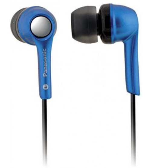 Panasonic RP-HJE240PAA Wired Stereo Headphone, Blue