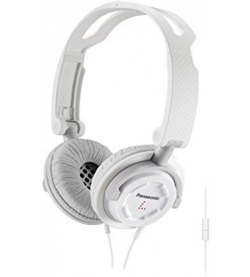 Panasonic RP-DJS150M-W FOLDZ on Ear Headphone, White