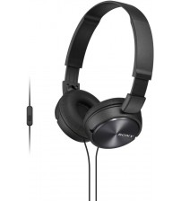 Sony MDR-ZX310APB Wired Headset with Microphone, Black