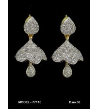 CZ Earrings, 77116