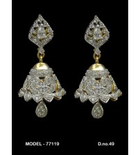 CZ Earrings, 77119
