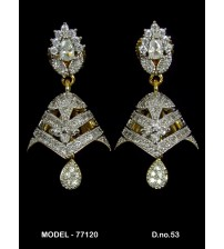 CZ Earrings, 77120