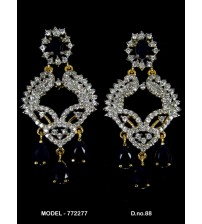 CZ Earrings, 772277