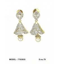 CZ Earrings, 7793835