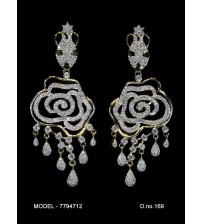 CZ Earrings, 7794712