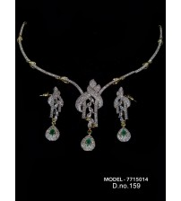 CZ Necklace Set, 7715014