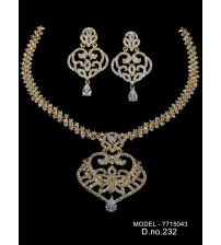 CZ Necklace Set, 7715043