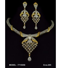 CZ Necklace Set, 7715056