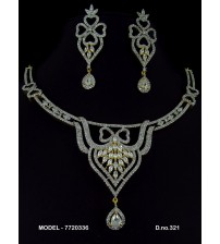 CZ Necklace Set, 7720336