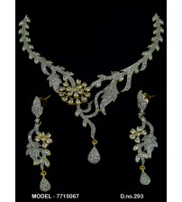 CZ Necklace Set, 7715067