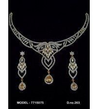 CZ Necklace Set, 7715075