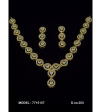 CZ Necklace Set, 7715157