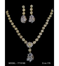 CZ Necklace Set, 7715195