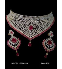 CZ Necklace Set, 7796250