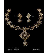 CZ Necklace Set,7796559