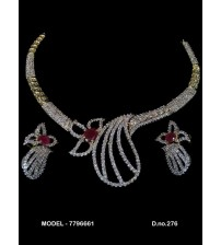 CZ Necklace Set, 7796661