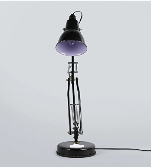 Long Arm Table Lamp, Lamp for Doctor, Study, Office Uses, or Industrial Work, Black Color