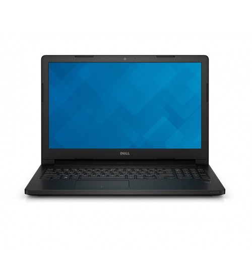 Dell Latitude 3560 Laptop (Intel Core i3 5th Gen 5005U Processor, 4GB RAM, 500GB HDD, 39.62cm/15.6 Inch Screen, Linux OS, Color-Black)
