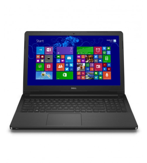 Dell Vostro 15, 3558 Notebook, Intel Core i3, 4GB RAM, 500 GB HDD, 15.6 Inch, Linux OS, Black