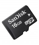 SanDisk MicroSD 16 GB Class 4 Memory Card