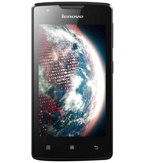 Lenovo A1000, 8 GB ROM, 1 GB RAM, Dual SIM, 5 MP Rear Camera, Android OS (Lollipop), Black