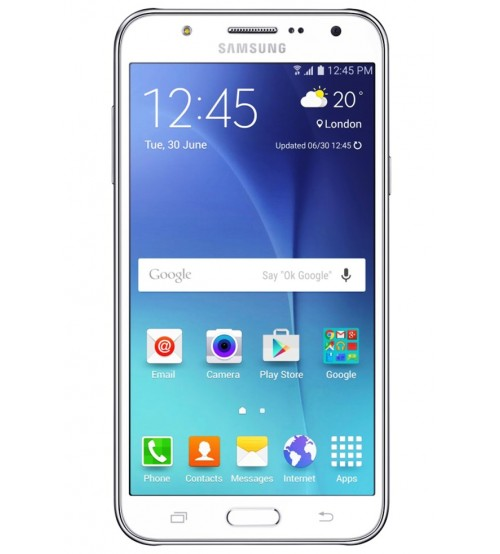 Samsung Galaxy J5, SM-J500F, 8 GB, 1.5 GB RAM, Dual SIM, 13 MP Rear Camera, Android OS (Lollipop), White