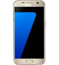 Samsung Galaxy S7, SM-G930F, 32 GB ROM, 4 GB RAM, 5.1 Inch, Dual SIM, 12 MP Rear Camera, Android Marshmallow 6 OS, Gold Platinum