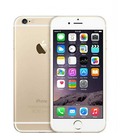 Apple iPhone 6, 64 GB, 1 GB RAM, Single SIM, 8 MP Rear Camera, iOS 8, Gold
