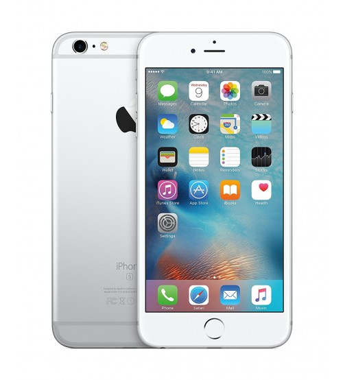 Apple iPhone 6s Plus, 16 GB, 2 GB RAM, Single SIM, 12 MP Rear Camera, iOS 9, Silver (Brand New Phone)