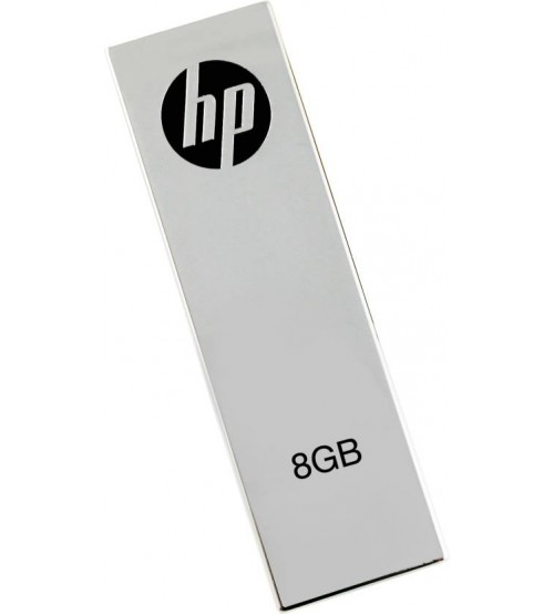 HP V210W 8 GB USB Pen Drive, USB 2.0, Grey