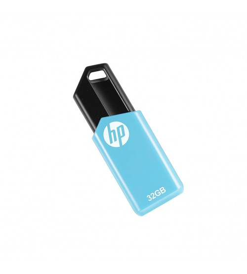 HP V150W 32 GB Pen Drive, USB 2.0, Blue