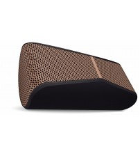 Logitech X300 Mobile Wireless Stereo Speaker, Black and Brown