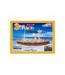 3D Puzzle Ship for Kids, Assembling Sheet, 67 pieces, Attractive Show Piece