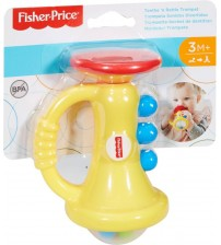 Fisher Price Teeth and Trumpet Rattle
