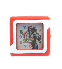 Ben 10 Kids Wrist Watch, Square Shape Wrist Watch for Kids, Analog, Red and White Color