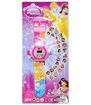 Time Princess Digital Watch with 24 Image Projector, Kids and Children Watch, Pink Color
