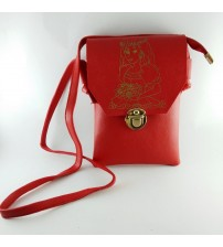SMALL AND STYLISH BIG BOSS POUCH, RED (Ladies Bag)