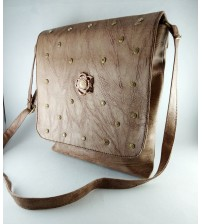 REGULAR LIGHT BROWN 2 ZIP BAG